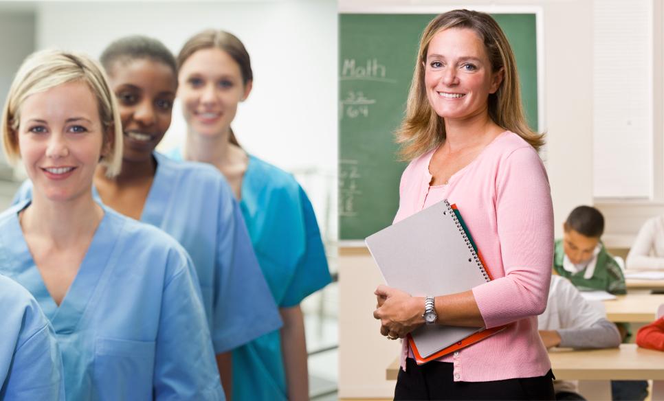 National Nurses Week & Teacher Appreciation Week
